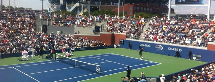 Court 17 - USTA Billie Jean King National Tennis Center is one of US Open.