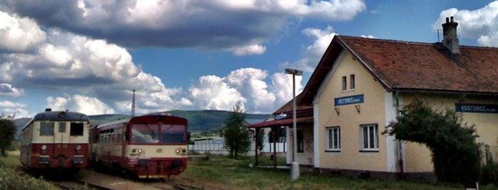 Železniční stanice Hostomice pod Brdy is one of Železniční stanice ČR: H (3/14).