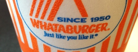 Whataburger is one of T-town favs.
