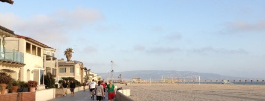 Hermosa Beach - The Strand is one of The 50 Most Popular Beaches in the U.S..