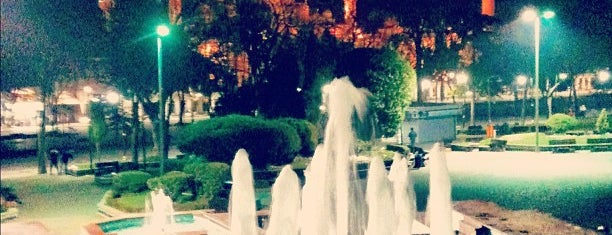 Sultanahmet Square is one of Istanbul.