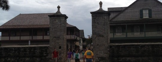 Old City Gates is one of St. Augustine Tourist Spots to See.