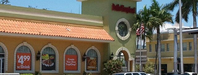 Pollo Tropical is one of My favorite places :).