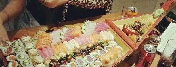 Kaiten Sushi Bar is one of Guia Rio Sushi by Hamond.