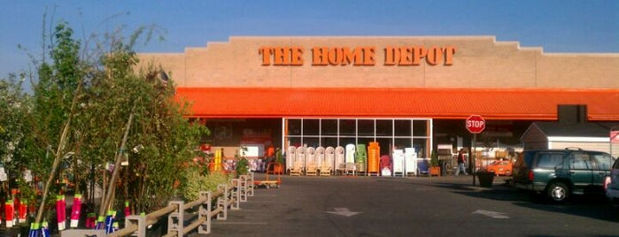 The Home Depot is one of Hardware.