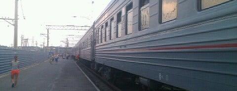 Ж/Д станция Исток is one of Транссибирская магистраль.