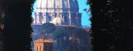 Buco della Serratura Priorato dei Cavalieri di Malta is one of Roma, it.