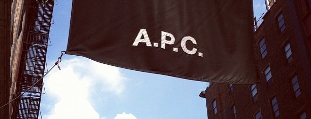 A.P.C. is one of Best in NYC 2.