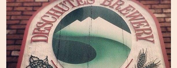 Deschutes Brewery Bend Public House is one of Beer / RateBeer's Top 100 Brewers [2015].