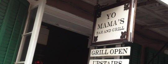 Yo Mama's Bar & Grill is one of New Orleans, LA.