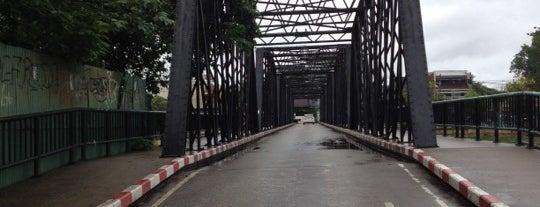 Nawarat Bridge is one of Guide to the best spots Chiang Mai|เที่ยวเชียงใหม่.