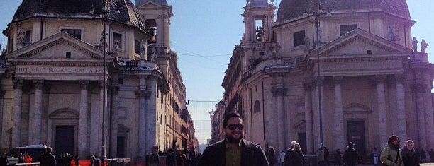 Piazza del Popolo is one of La Dolce Vita - Roma #4sqcities.