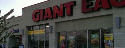 Giant Eagle Supermarket is one of frequented.