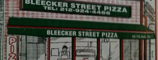 Bleecker Street Pizza is one of Greenwich Village / West Village.