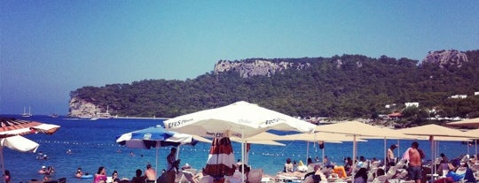 Calista Beach Cafe Bar is one of antalya~ alanya~ side~belek.