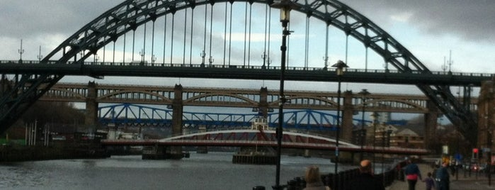 Newcastle Quayside is one of Newcastle Upon Tyne.