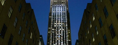 Rockefeller Center is one of 도시미학.