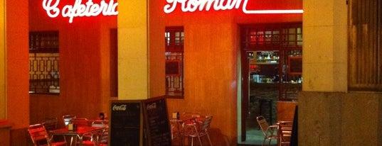 Cafeteria Roman is one of Madrid: de Tapas, Tabernas y +.
