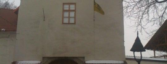 Slezskoostravský hrad is one of Čekovací muzejní noc v Ostravě 2012.