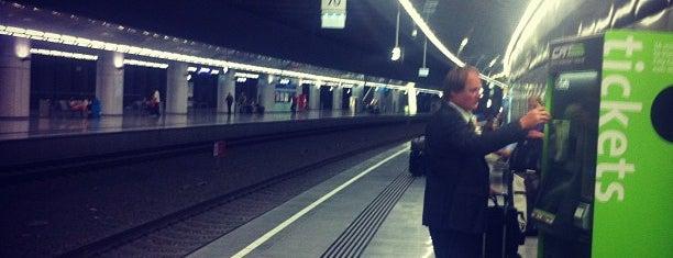 CAT Station Vienna International Airport is one of My Wien.