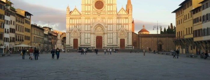 Piazza Santa Croce is one of Mia Italia |Toscana, Emilia-Romagna|.