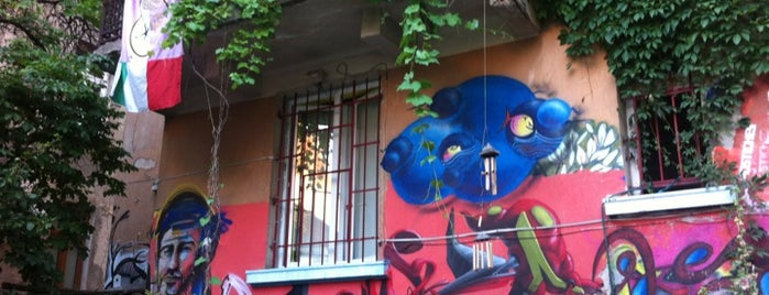 Art Hostel is one of My Sofia Guide for cool places.
