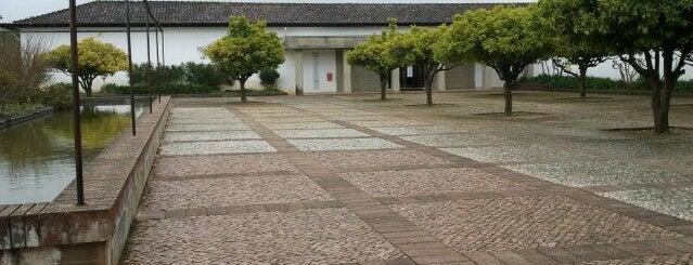 Museu Monográfico de Conímbriga is one of santiago ribeiro, surrealist artist.