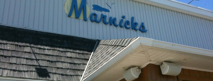 Marnick's is one of Favorite Restaurants.