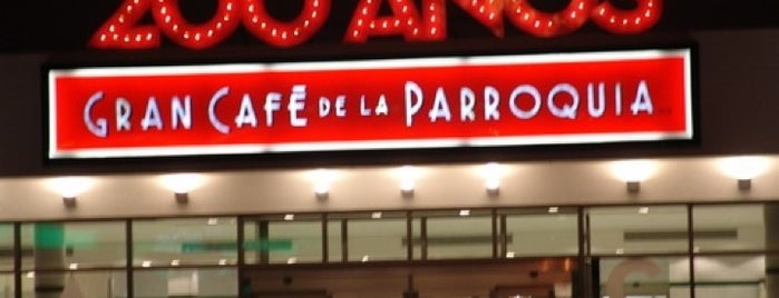 Gran Café de la Parroquia is one of Restaurantes.