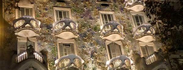 Casa Batlló is one of Gaudí - Modernismo.