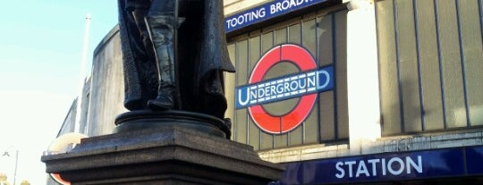 Tooting Broadway London Underground Station is one of Tube Challenge.