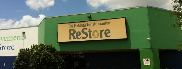 Habitat for Humanity ReStore is one of houston nothing.