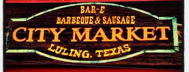 City Market is one of TM Top 50 BBQ Joints 2013.