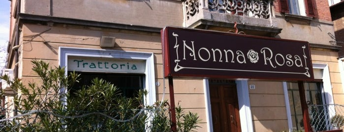 Trattoria Nonna Rosa is one of Bologna city.