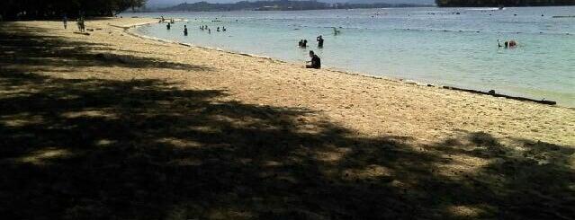 Manukan Island is one of Kota kinabalu.