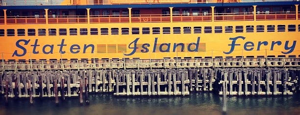 Staten Island Ferry - St. George Terminal is one of NYC Percent for Art.