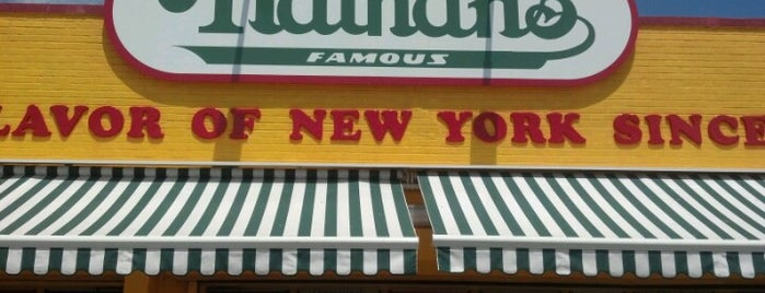 Nathan's Famous is one of Eat NYC.