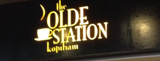 The Olde Station Kopitiam is one of @Sabah, Malaysia.