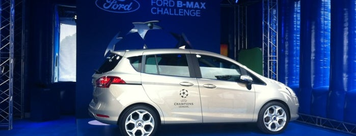Ford B-MAX Challenge is one of UEFA Champions Festival.