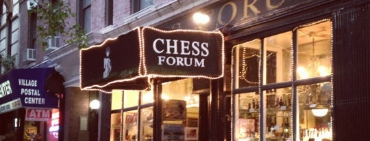 Chess Forum is one of NYC Best Shops.