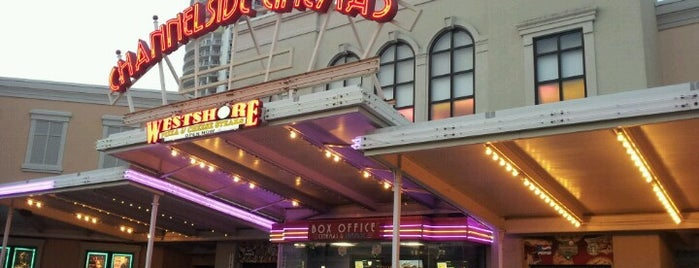 Channelside Cinemas 10 is one of Princess' Tampa Hot Spots!.