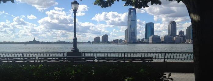Hudson River Promenade is one of New York.