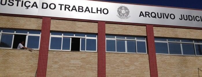 Arquivo Judicial - Tribunal Regional do Trabalho da 17° Região is one of Bote.