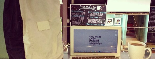 Sugar Café is one of Best Cafes to Get Work or Studying Done.