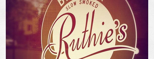 Ruthie's Bar-B-Q & Pizza is one of Best Food in Montclair.