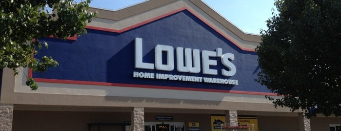 Lowe's Home Improvement is one of Love to go.