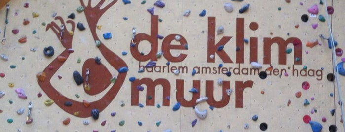 De Klimmuur is one of Kids Guide. Amsterdam with children 100 spots.