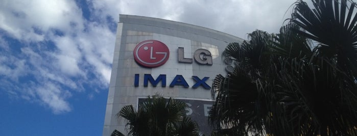LG IMAX Theatre is one of Sydney.