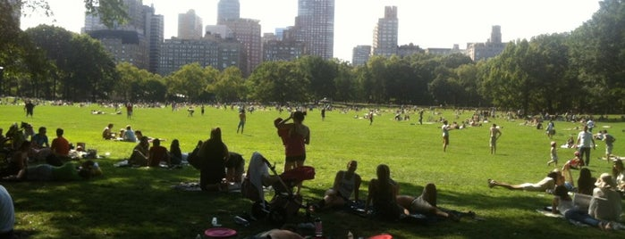 Sheep Meadow - Central Park is one of NYC I see.