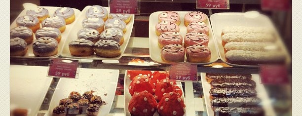 Dunkin' Donuts is one of Вкусненькое.